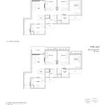 Penrose Floor Plan - 3 Bedroom Type (3)f1+f
