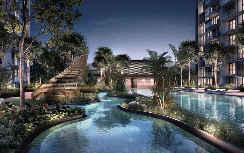 Penrose condo gallery - Facilities Night - A tapestry of recreation that stretches the imagination