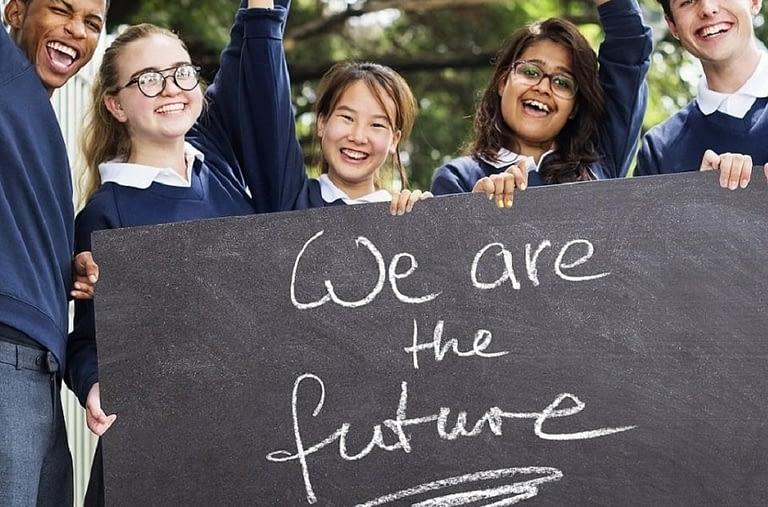 Penrose - School Children. We are the future