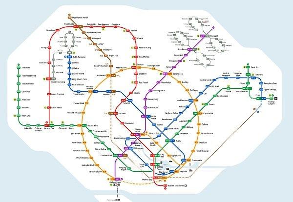 Penrose - MRT Lines