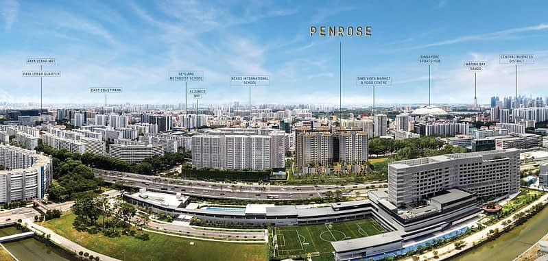 Panorama - On the fringe of urban vigour