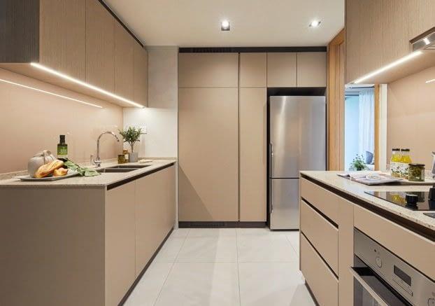 Penrose condo gallery - Kitchen