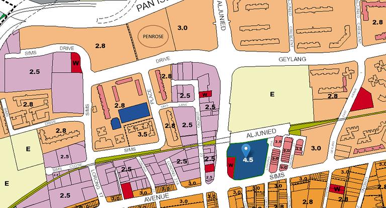 Aljunied MRT Commercial Site