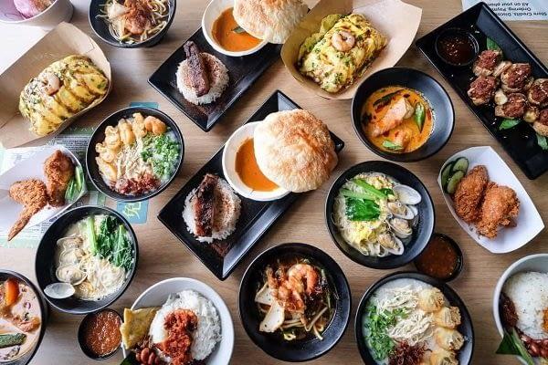 Penrose condo - Singapore Hawker Food UNESCO